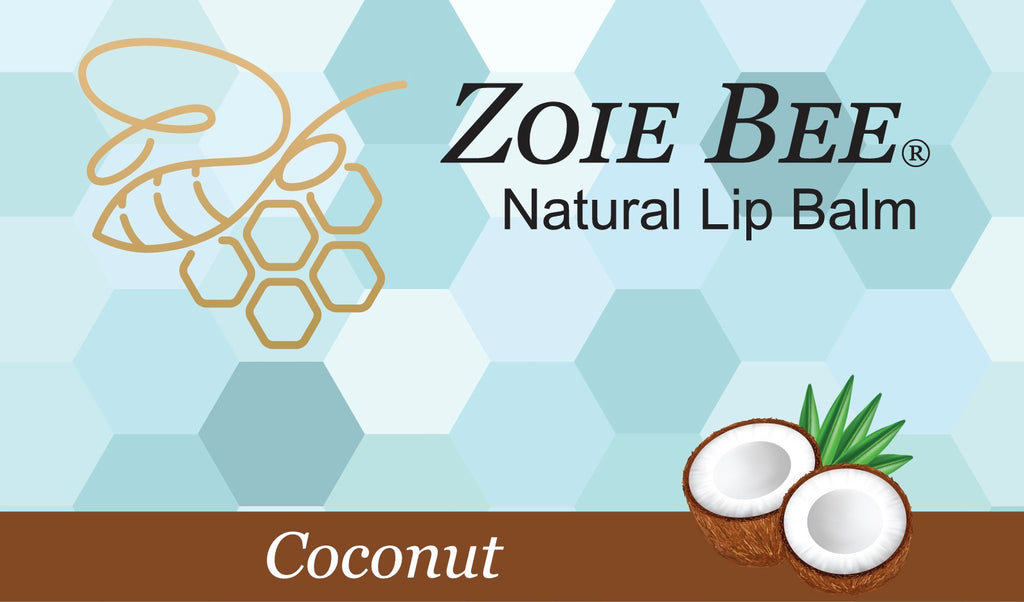Zoie Bee Coconut Lip Balm