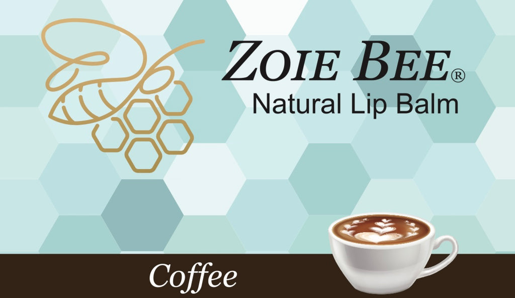 Zoie Bee Coffee Lip Balm
