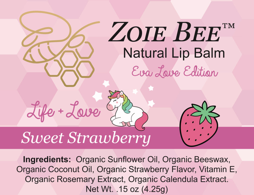 Zoie Bee Eva Love Special Edition Lip Balm