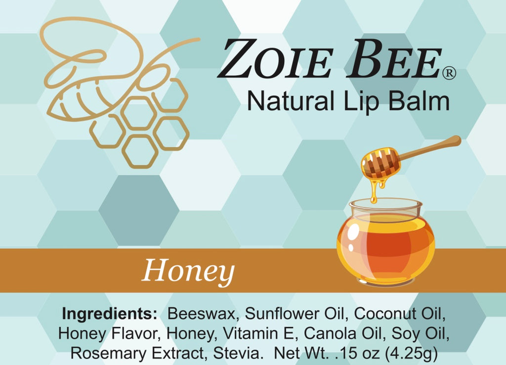 Zoie Bee Honey Lip Balm