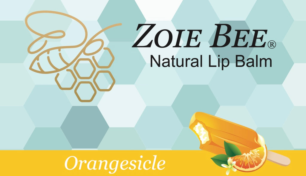 Zoie Bee Orangesicle Lip Balm