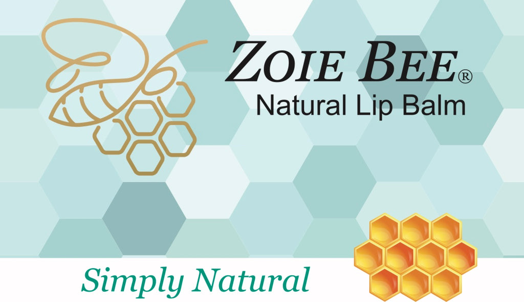 Zoie Bee Simply Natural Lip Balm