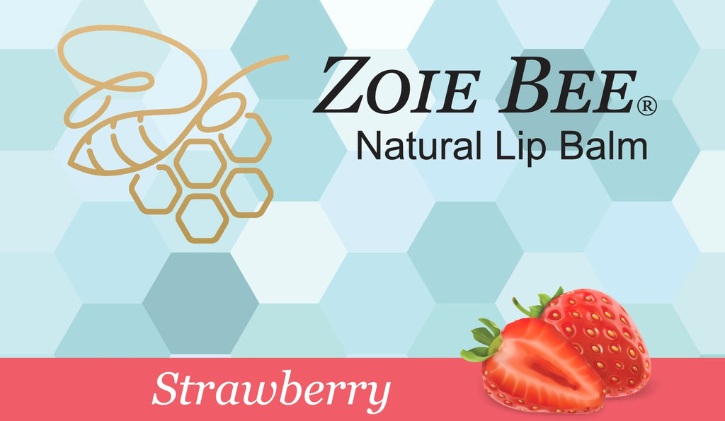 Zoie Bee Strawberry Lip Balm