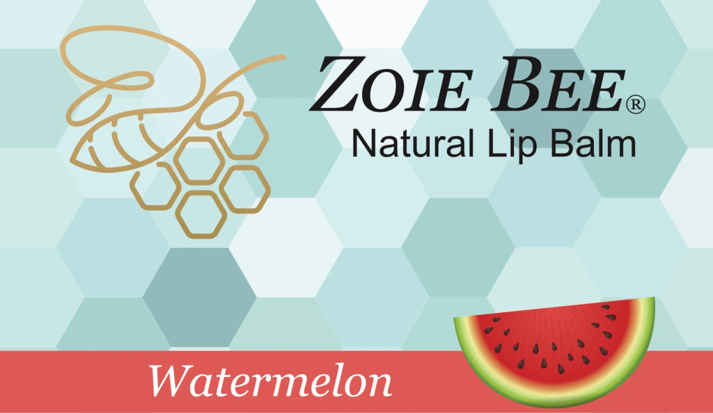 Zoie Bee Watermelon Lip Balm
