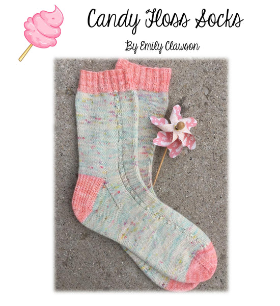 Candy Floss Socks Pattern