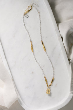 Germain Vignette Chain (gold two-tone)