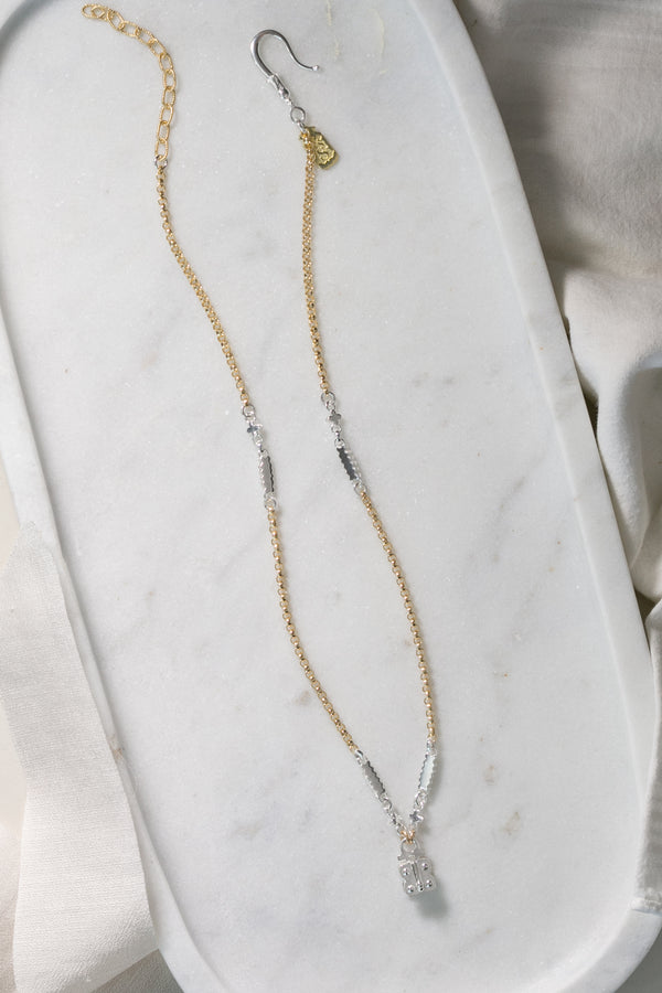 Germain Vignette Chain (silver two-tone)