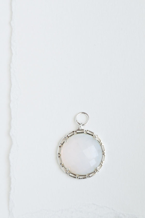 Maxine Round Opal Lights (silver)