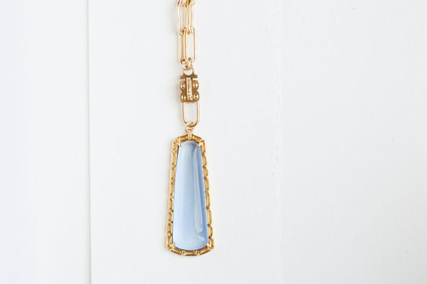Maxine (blue quartz, gold)
