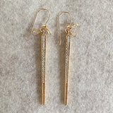 Crystal Icicle (gold)