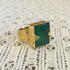 Valor - Green Onyx (gold)