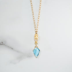 Kite Blue Quartz (Gold)