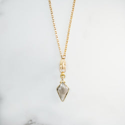 Kite Smoky Quartz (Gold)