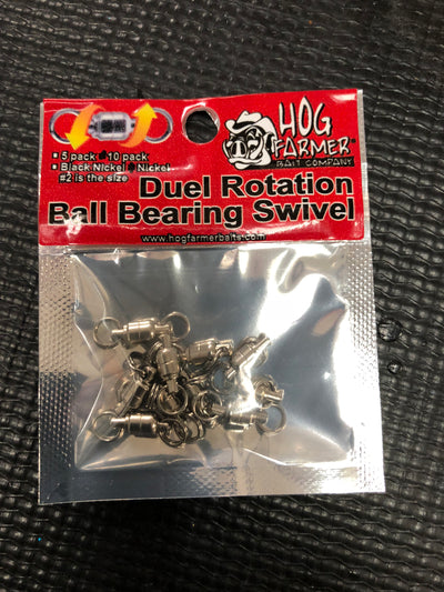 Dual Rotational Ball Bearing Swivel