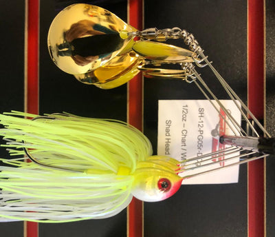 SpotSticker Shad Head Spinnerbait