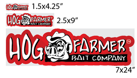 Hog Farmer Bait Sticker