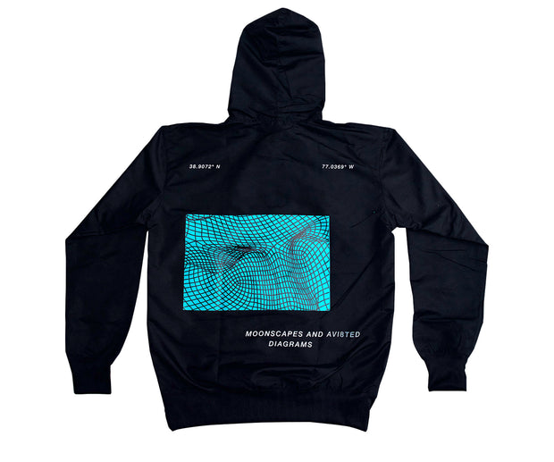 BLACK UNKNOWN HOODIE