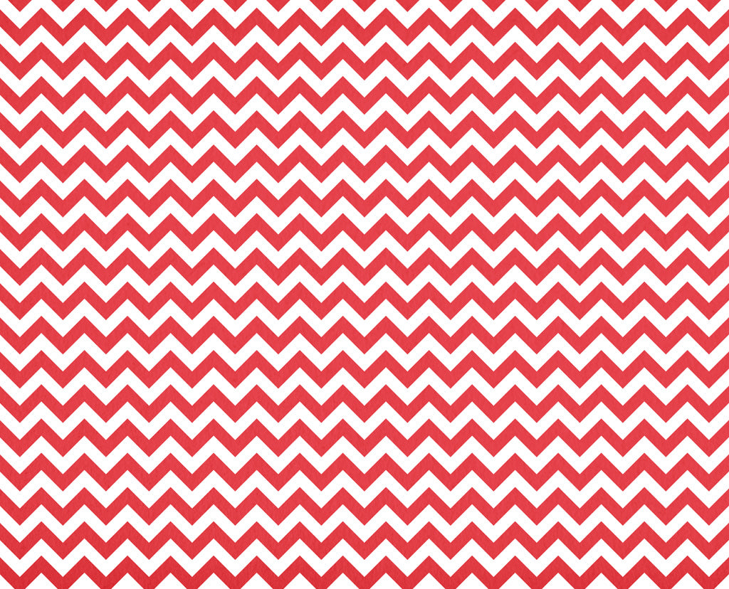 Chevron Poppy Red