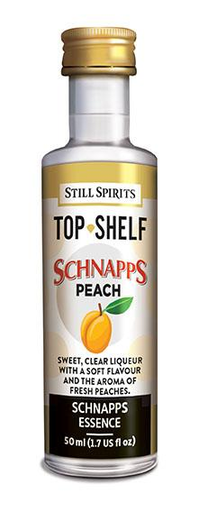 TOP SHELF PEACH SCHNAPPS FLAVOURING