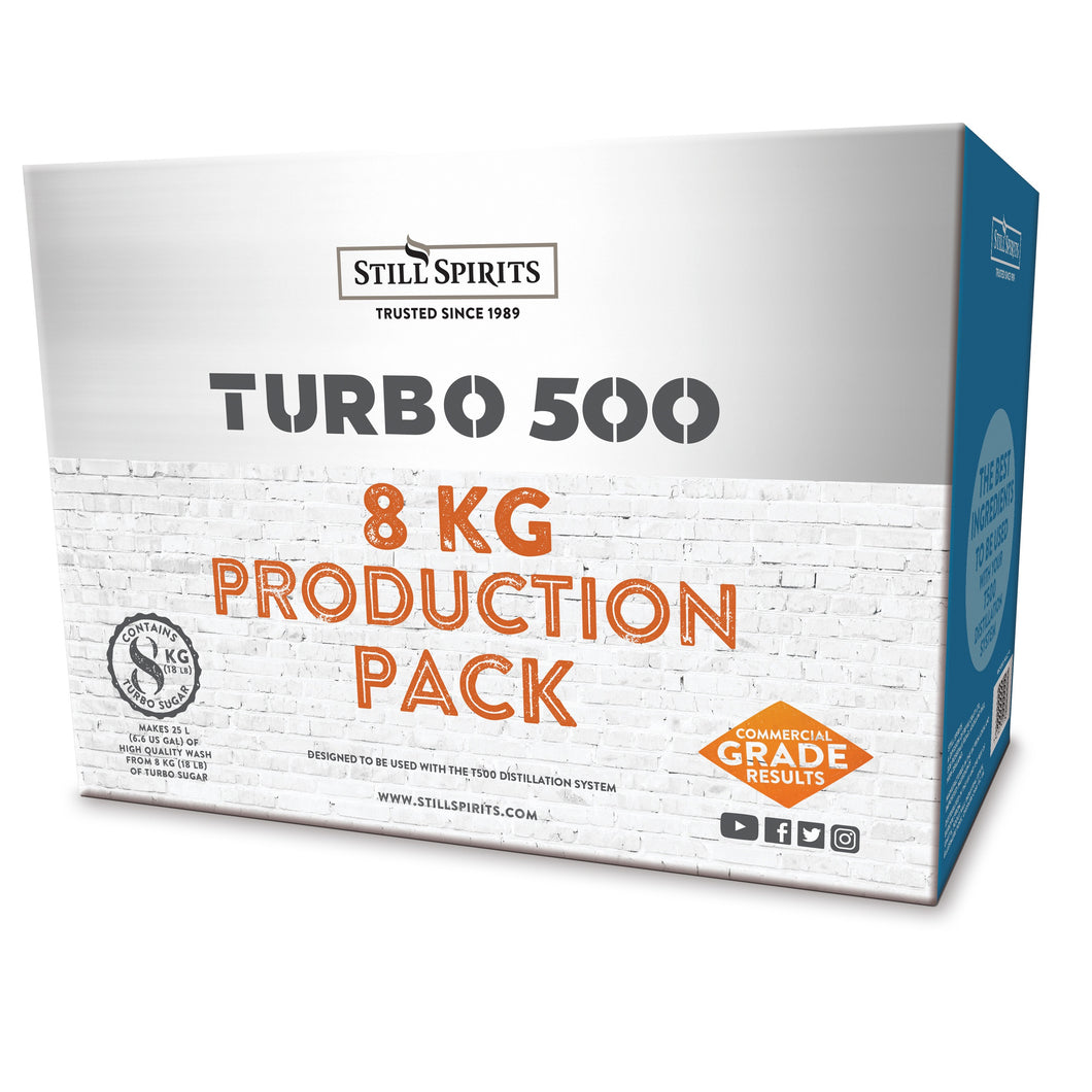TURBO 500 PRODUCTION PACK - AVAILABLE IN 6 OR 8KG