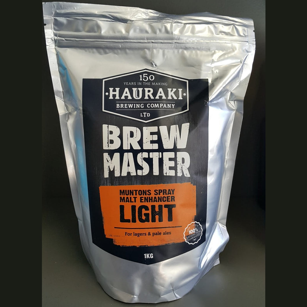 Brewmaster Muntons Spray Malt Enhancer Light 1Kg