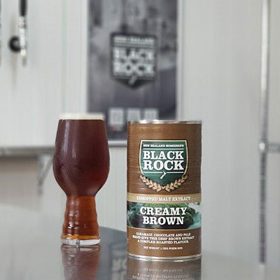 Black Rock Creamy Brown Unhopped Malt