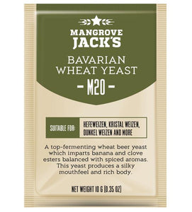 Mangrove Jacks Craft Series M20 BAVARIAN WHEAT YEAST - 10 G