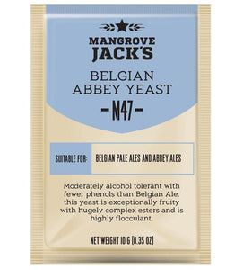 Mangrove Jacks Craft Series M47 BELGIAN ABBEY YEAST - 10G