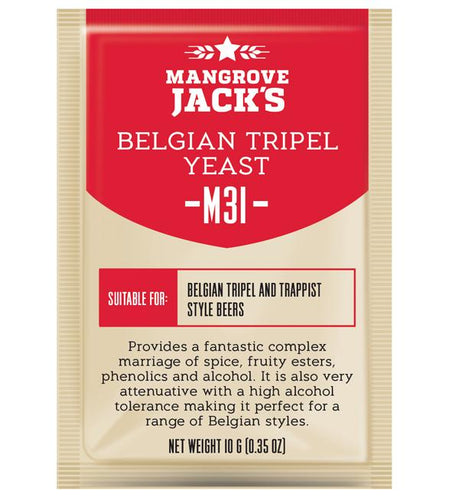 Mangrove Jacks Craft Series M31 BELGIAN TRIPEL YEAST - 10G