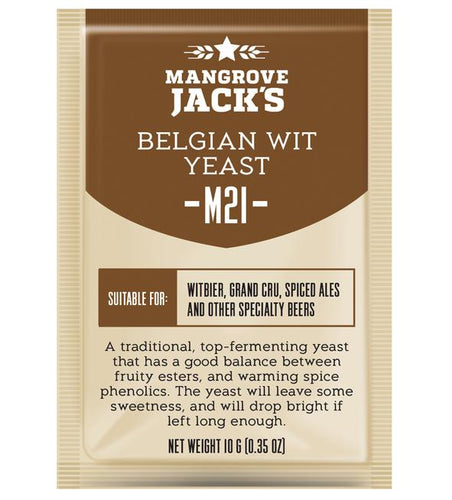 Mangrove Jacks Craft Series M21 BELGIAN WIT YEAST - 10G
