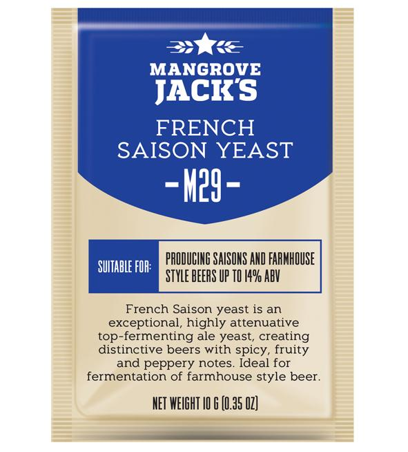 Mangrove Jacks Craft Series M29 FRENCH SAISON YEAST - 10 G