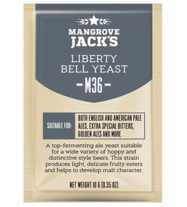 Mangrove Jacks Craft Series M36 LIBERTY BELL ALE YEAST - 10 G