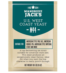 Mangrove Jacks Craft Series M44 US WEST COAST YEAST - 10 G