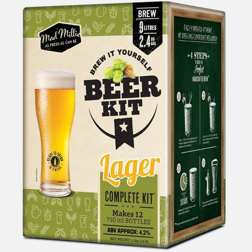 Brew it Yourself Lager Kit