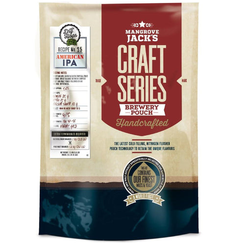 Mangrove Jacks Craft Series American IPA with Dry Hops