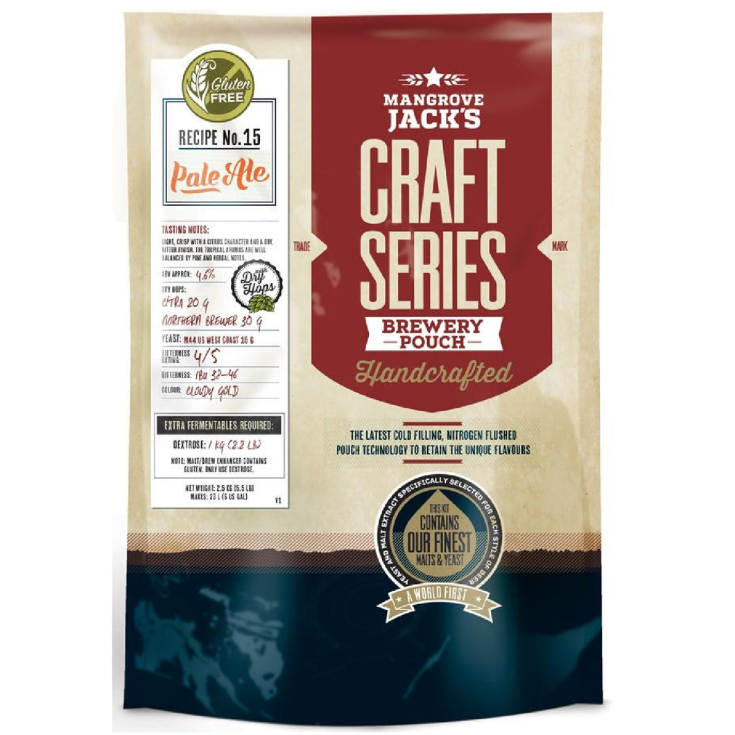 Mangrove Jacks Craft Series Gluten Free Pale Ale