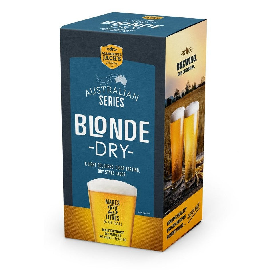 Mangrove Jacks AUSTRALIAN BREWER'S SERIES - BLONDE DRY