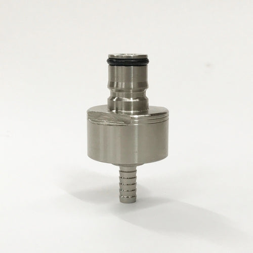 CARBONATION AND LINE CLEANING CAP - STAINLESS