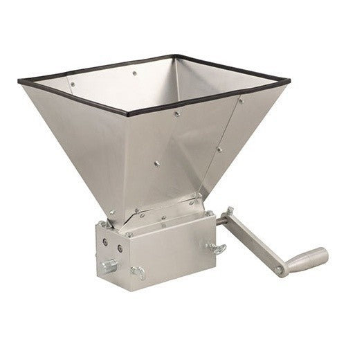 Grain Mill with Hopper - 3 Roller