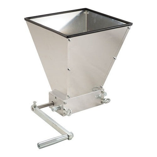 Grain Mill with Hopper - 2 Roller
