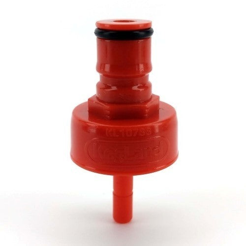 CARBONATION AND LINE CLEANING CAP - PLASTIC