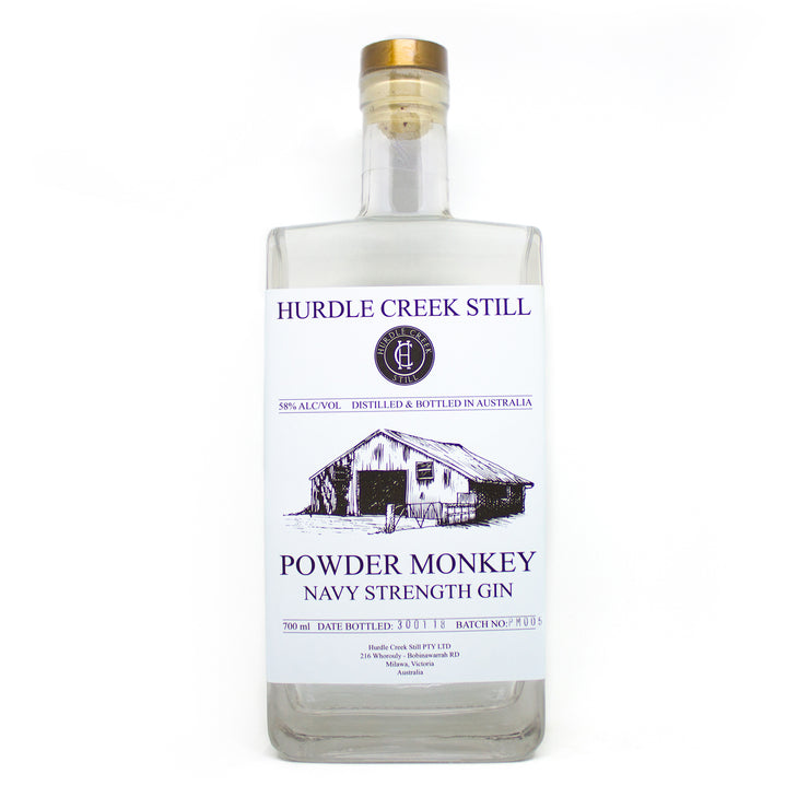 Hurdle Creek Still - Powder Monkey Navy Strength Gin