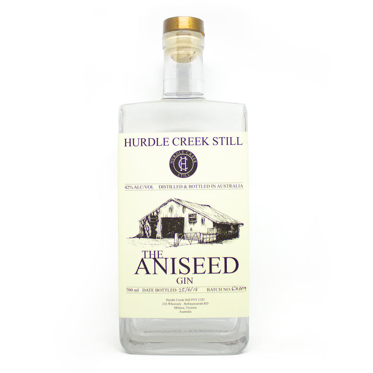 The Aniseed Gin bottle