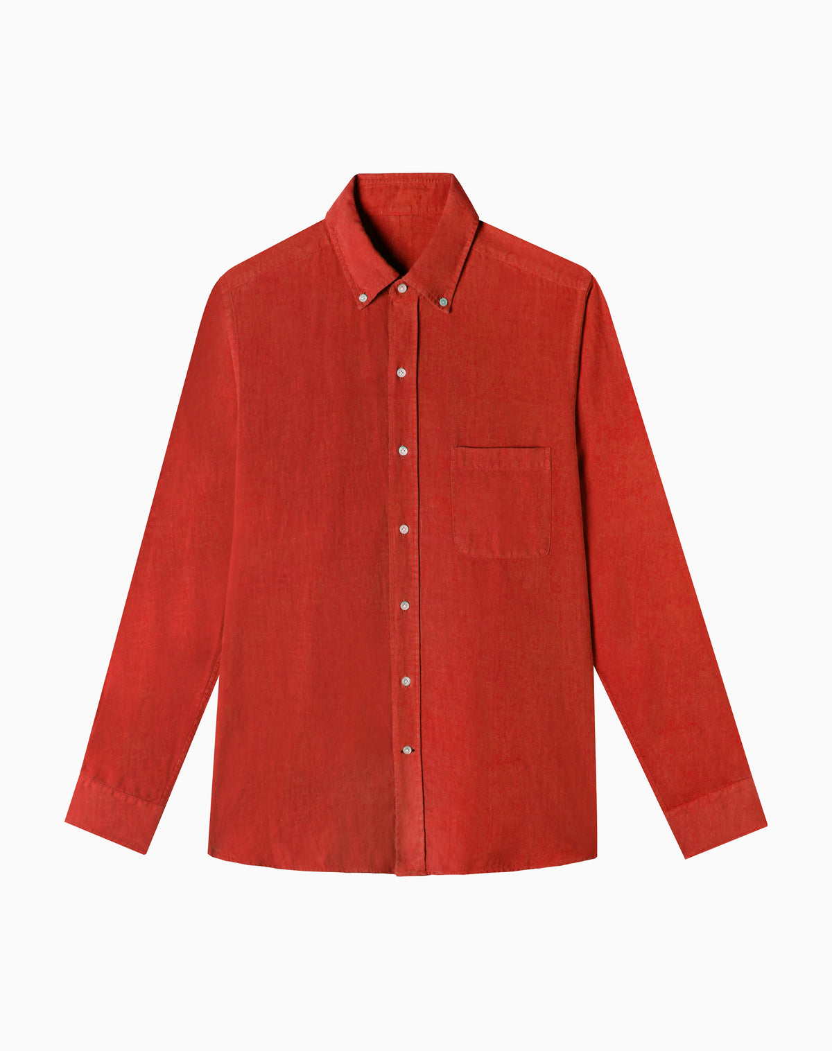 Linen Shirt in Red