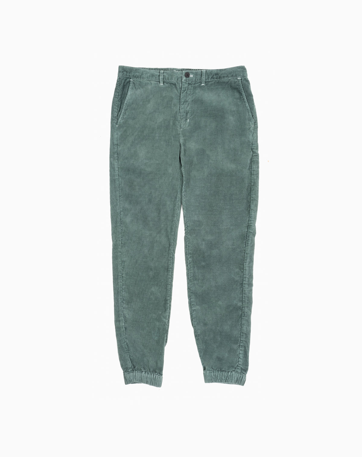Deck Jogger in Forest Green Corduroy