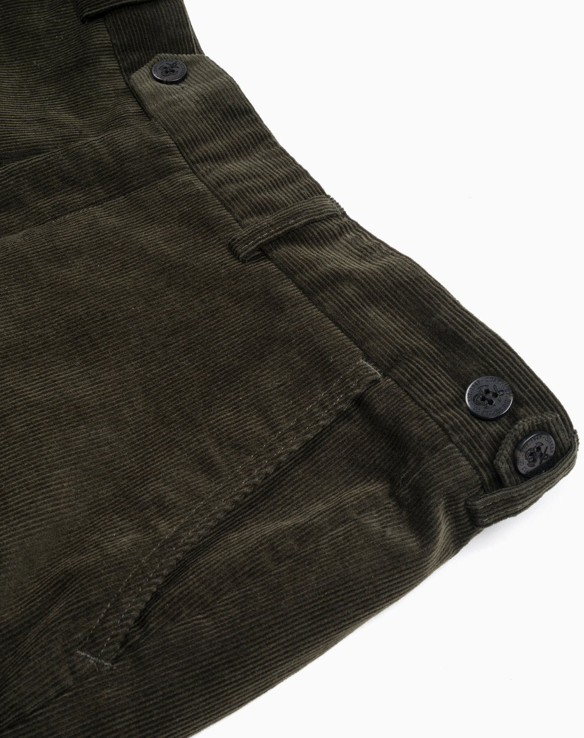 Gates Corduroy Pant in Olive