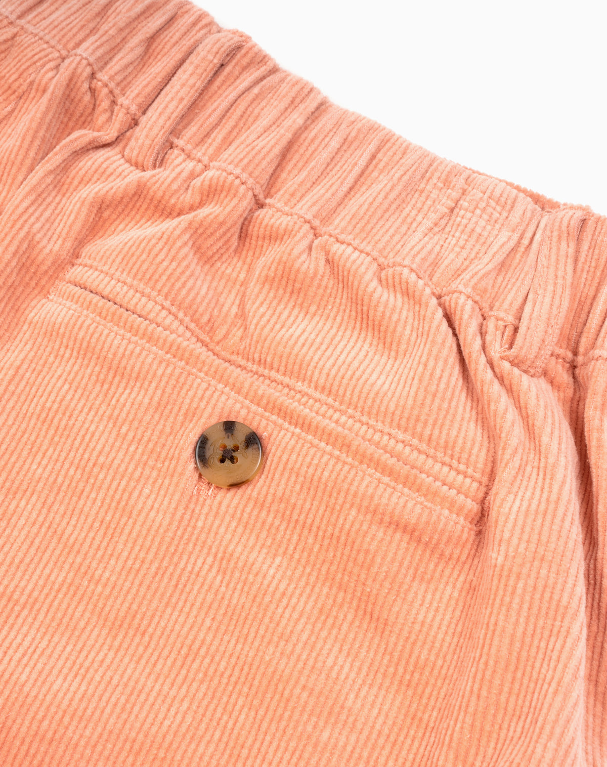 Ventura Corduroy Short in Salmon