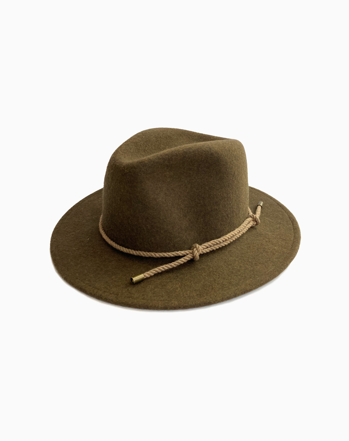 Beaufort Wool Felt Hat in Loden Mix