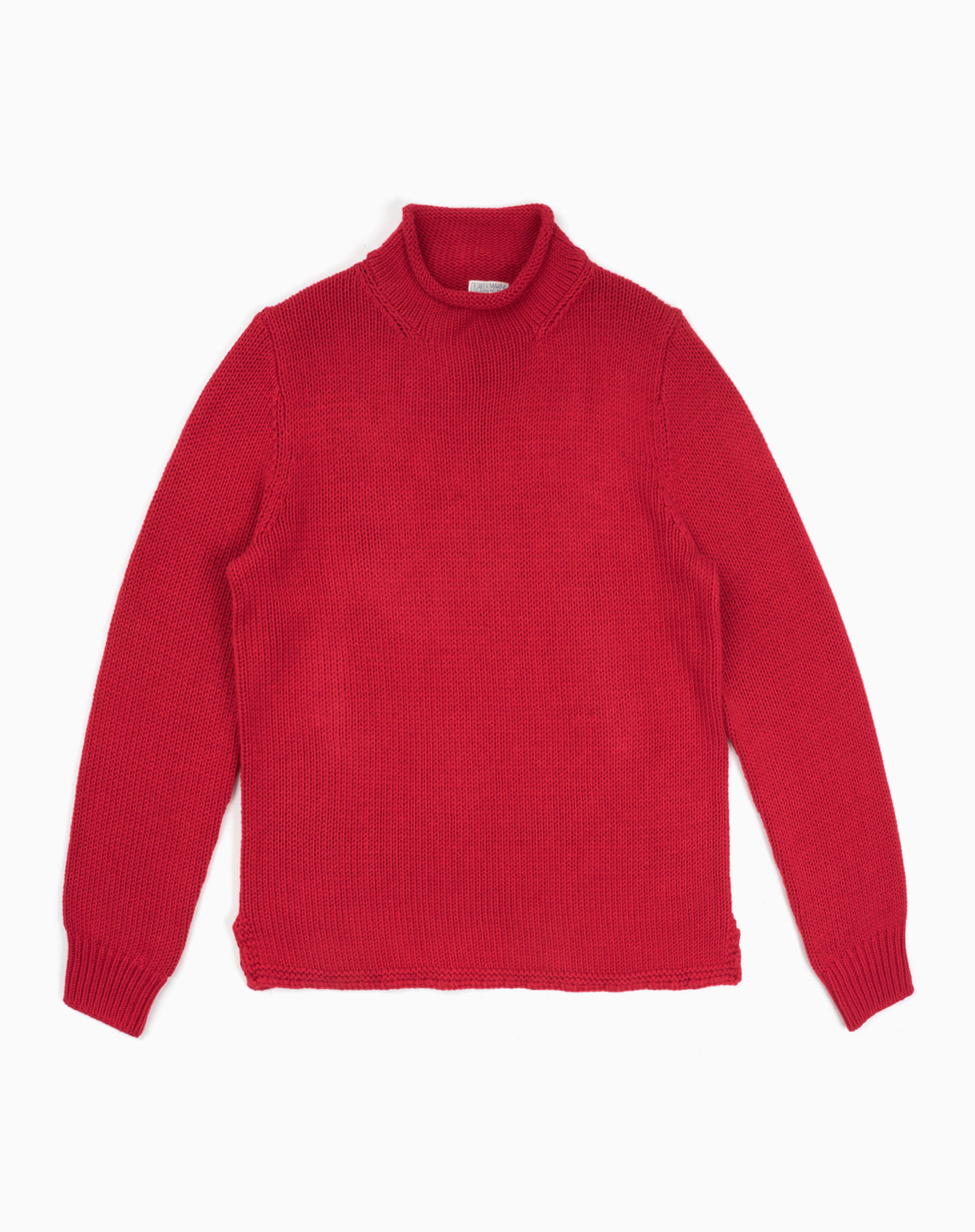 Fisherman's Sweater in Red