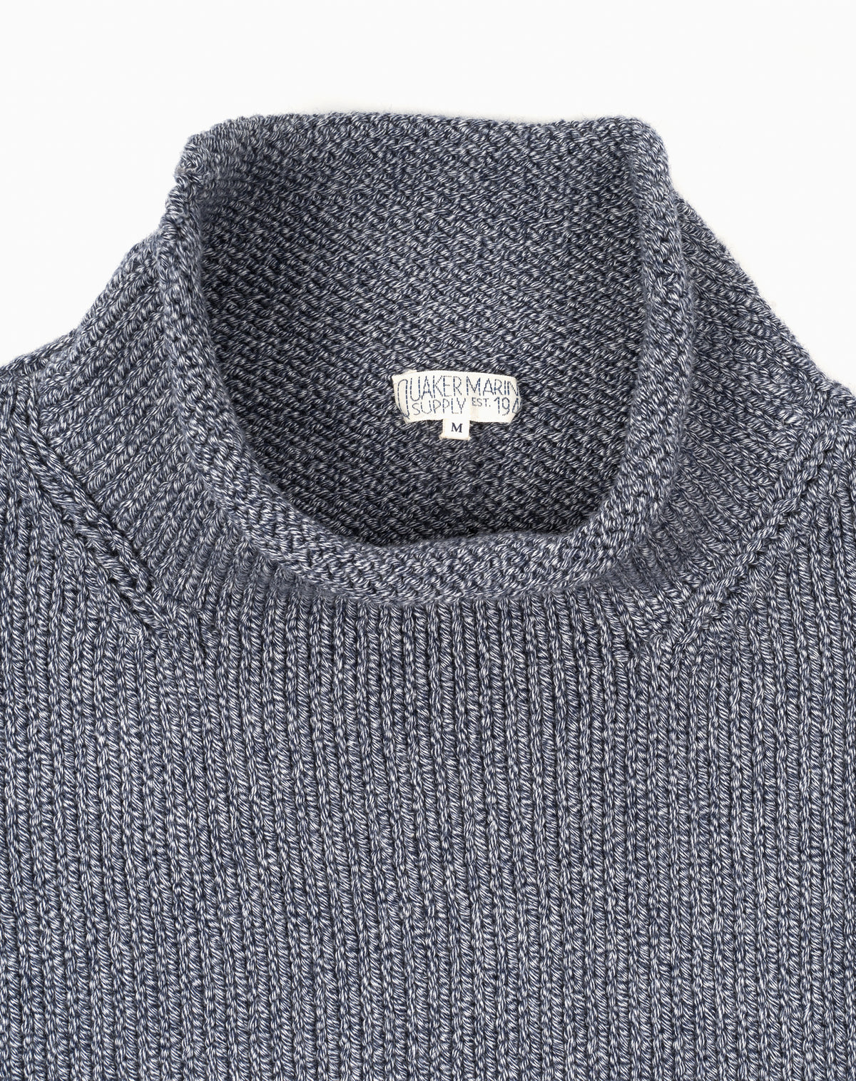 Fisherman's Sweater in Denim Mix